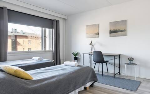 Standard Apartment, 2 Bedrooms, Balcony