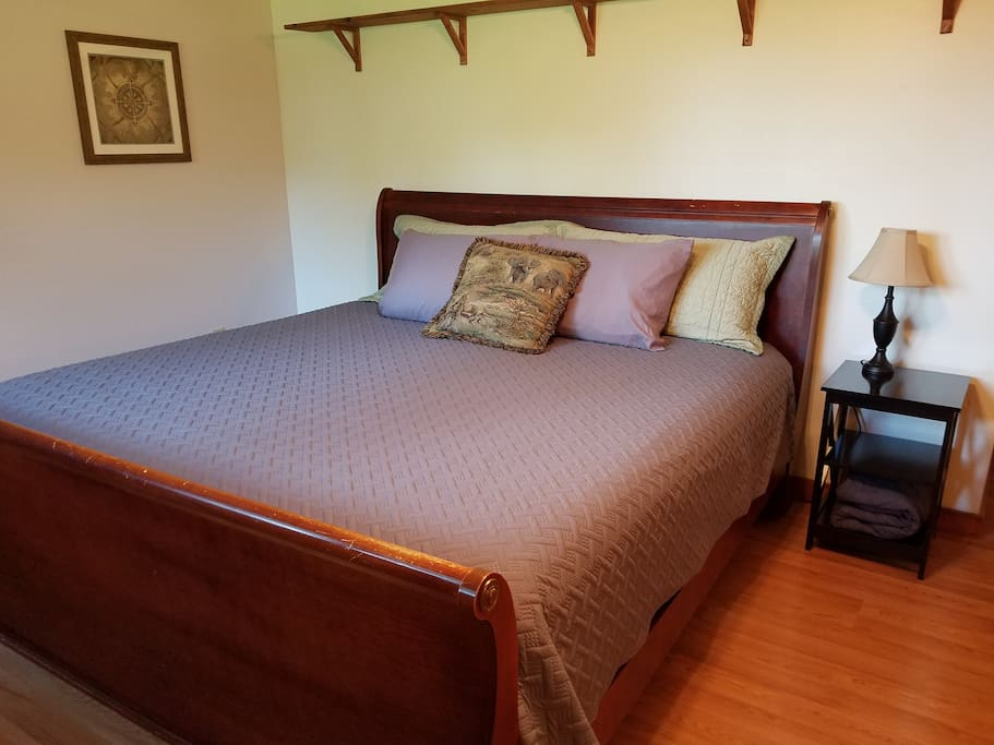 New king size mattress for a restful night
