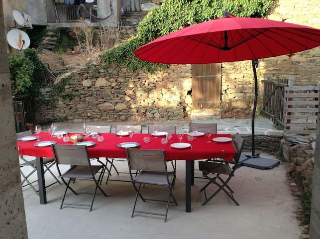 Maison de village dans le Cap Corse
