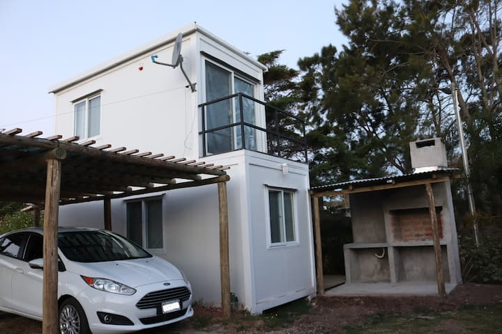 Sweet leaf  casita  completa a 400m. del mar. WIFI