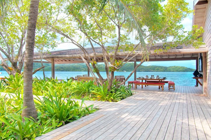 Relax on our spacious deck areas