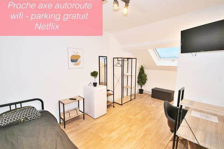 Capsule Room with Netflix Valenciennes ⭐️⭐️