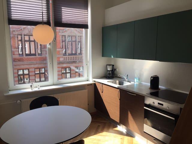 Charmerende lejlighed i hjertet af Esbjerg