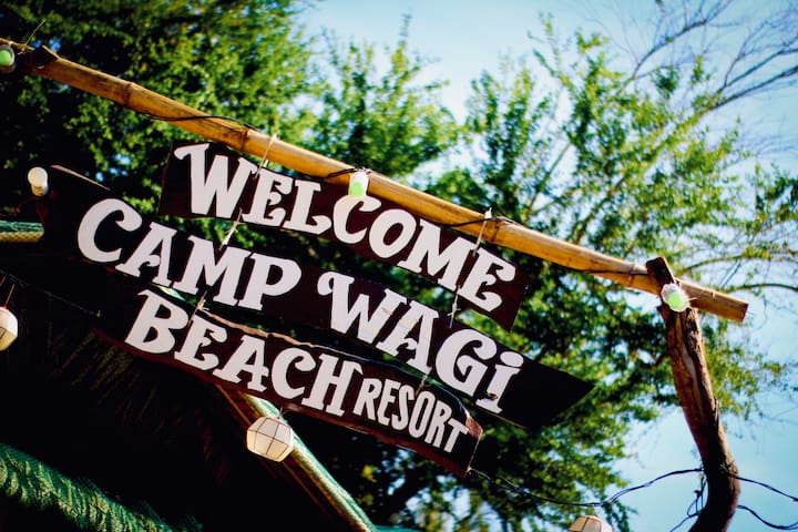 CAMP WAGI BEACH RESORT, CALATAGAN BATANGAS- ROOM D