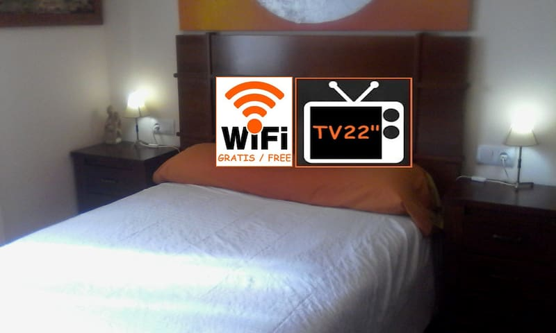 Private Room 2 People WiFi Good Comunicated - San Juan de Aznalfarache