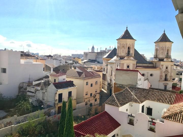 Rooftop en plein coeur de Malaga