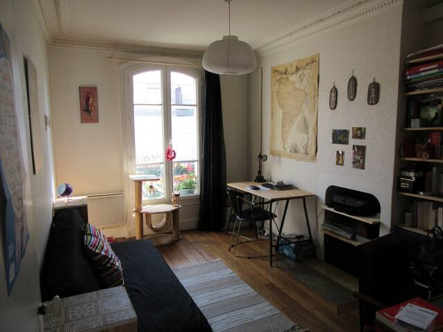 sunny room in lovely appartment - Saint-Ouen - Daire