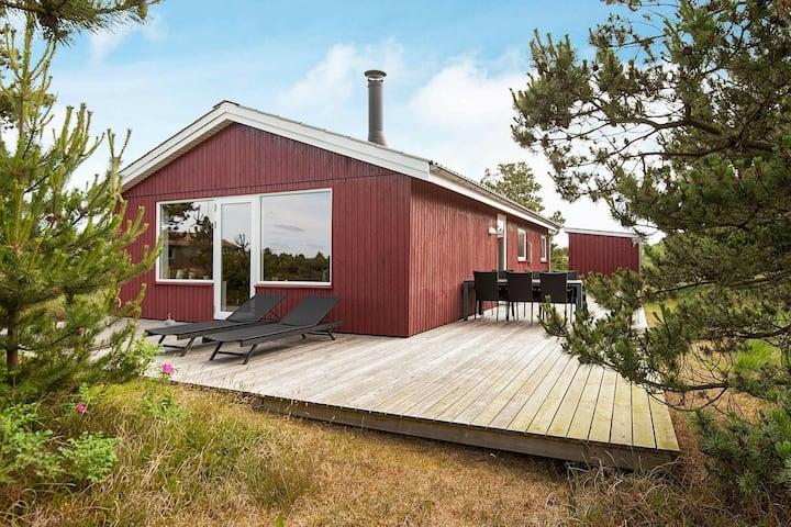 Abgeschiedenes Ferienhaus in Rømø mit Terrasse