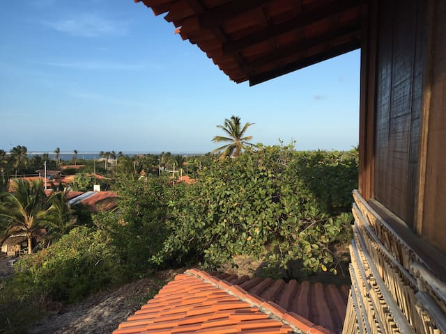 Casa de charme da duna, vista 360^ de toda Atins!