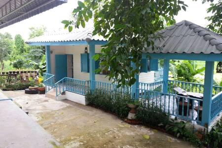 บ้านฟองจรัส Ban Fong Jaras - Tambon Na An - Haus