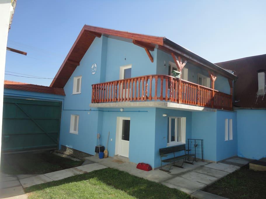 das 2011 neu erbaute Haus in Hetzeldorf (Atel)