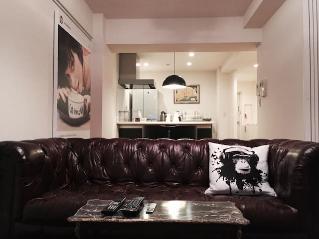 HIP ONE BEDROOM IN HIP TOKYO HOOD! - 港区 - อพาร์ทเมนท์