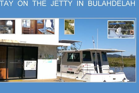 Luxury Houseboat Hire 4 berth 33' - Bulahdelah - เรือ