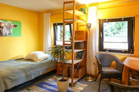 Nice room near forest and Rhine river - Бонн