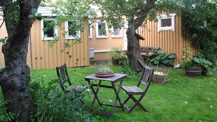 Midt i en eventyrlig have