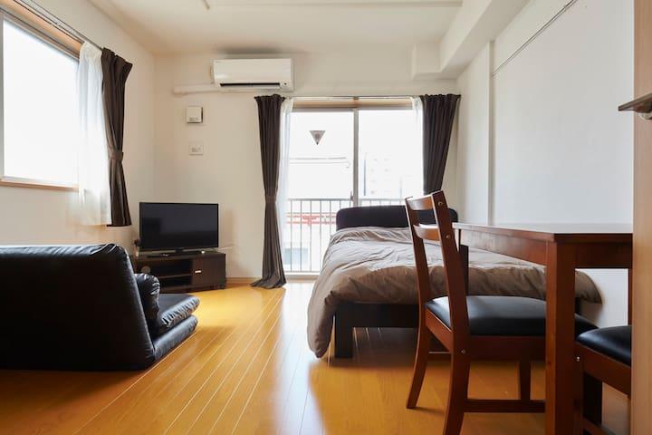 Easy access Narita+Haneda Airport - Sumida-ku - Apartament