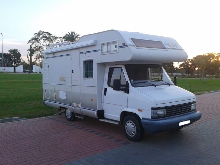 Motorhome/campingcar for vacations