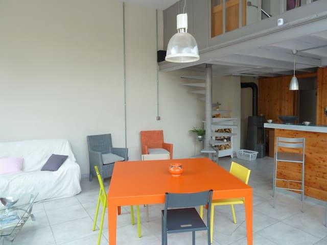 loft 70 m² dans verriere athypique - Oullins - Loft