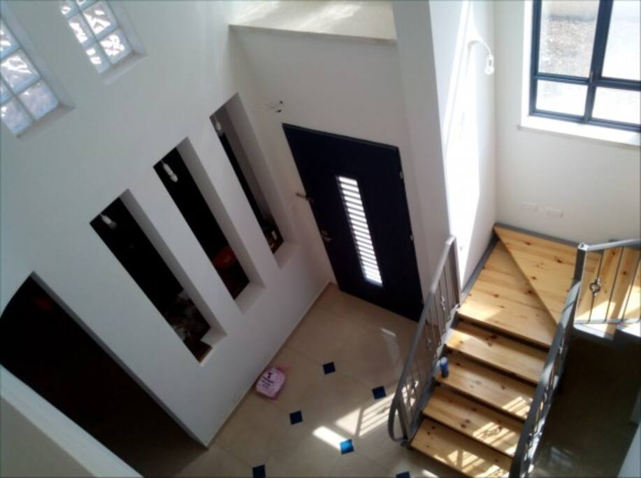 2 floors, light, air and lot of space