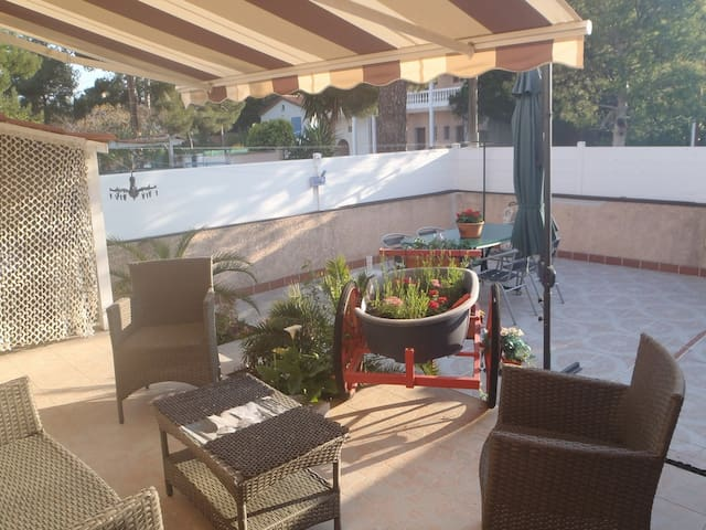 maison claire et moderne a  200mer - Argelès-sur-Mer - Hus