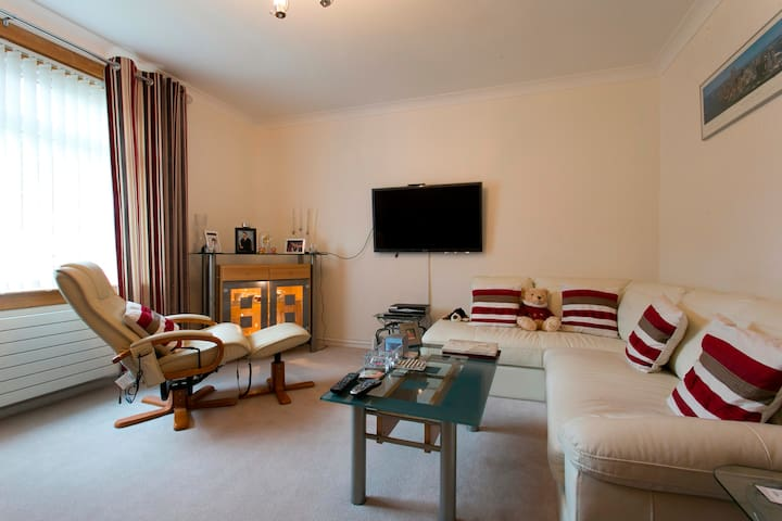 Entire Apartment near Edin Airport - Queensferry - Apartamento