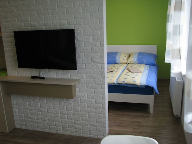 Comfortable&Quiet Apartment B in Gdańsk Oliwa - Gdańsk - Appartement