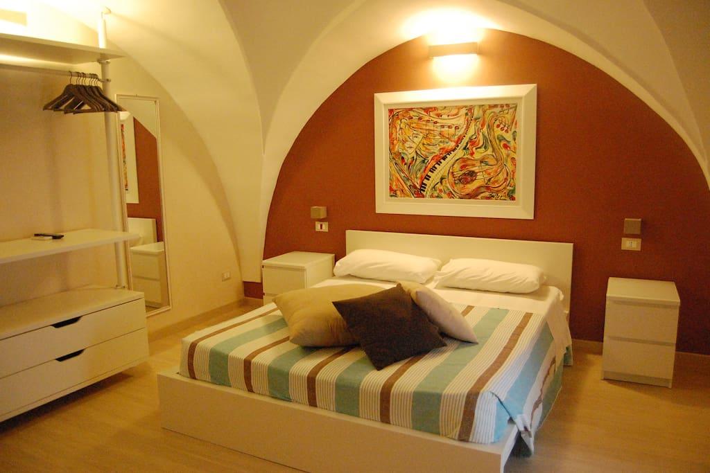 camera da letto 2 pax