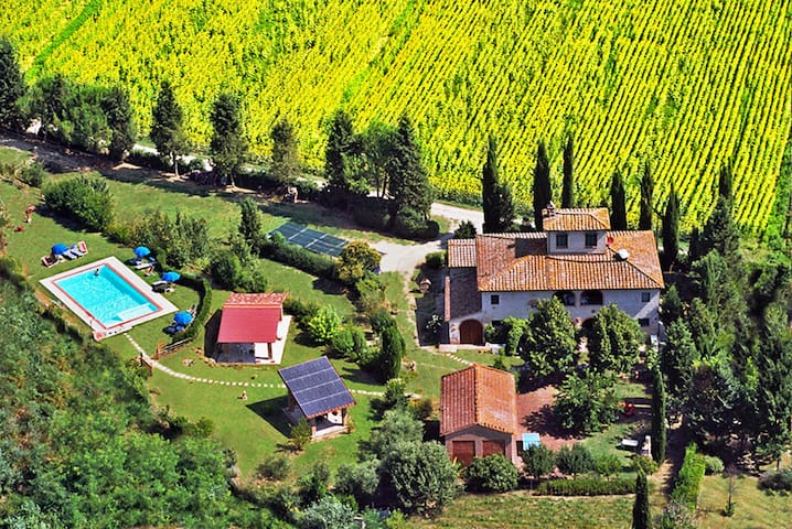 Appartamento B&B in Casa colonica campagna Toscana
