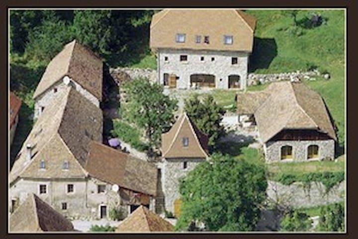 """Maison """"Pigeonnier"""" traditionnelle - Glandage - Hus"""