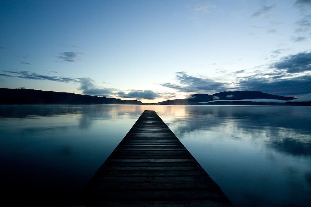 Lake Tarawera is one of the most beautiful spots in New Zealand.