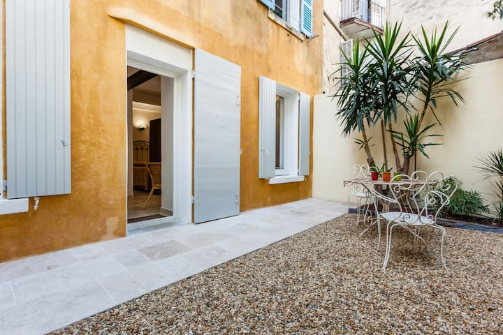 The little Zen with garden-Central - Marseille - Byt