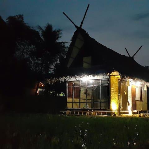 Saung Bale Bale. A Farmer House