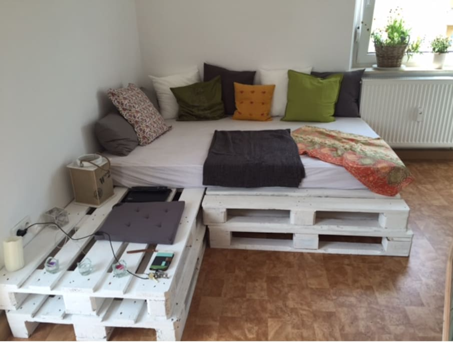 Sofa bed in well located appartment apartments for rent for Couch regensburg