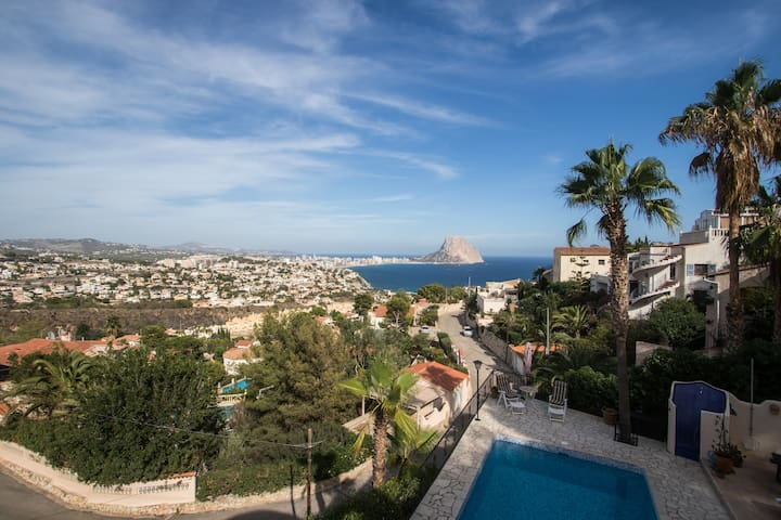 From private: Breathtaking view - Calp - Apartament
