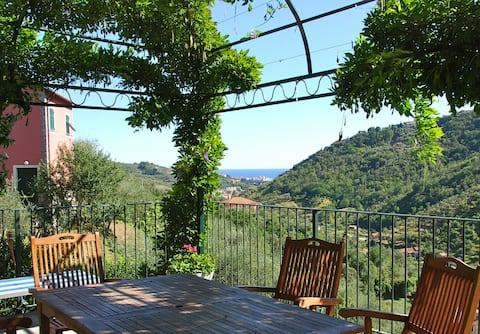 Apartment Panorama Sea View 5 Terre