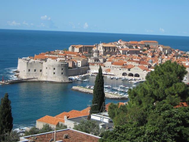 Wonderful apartment, amazing see view - Dubrovnik - Apartamento