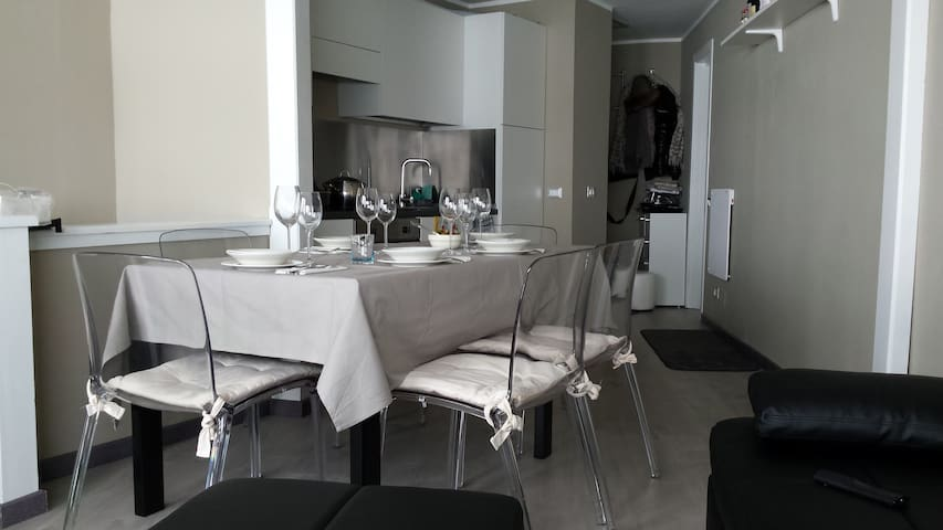 Superb flat on the slopes. - Breuil-Cervinia - Apto. en complejo residencial