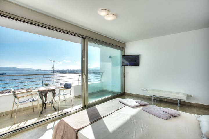 Master Suite with Fantastic View