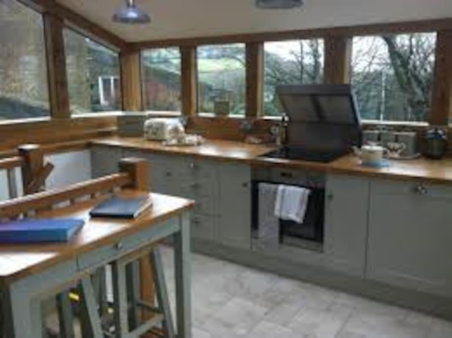 Fabulous kitchen space.