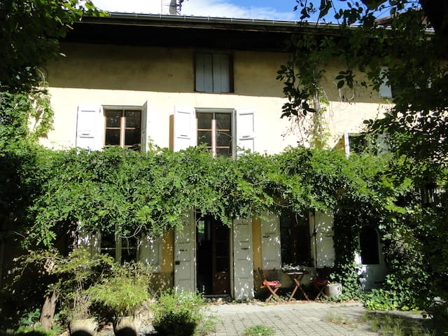 Maison de montagne pleine de charme - La Pierre - บ้าน