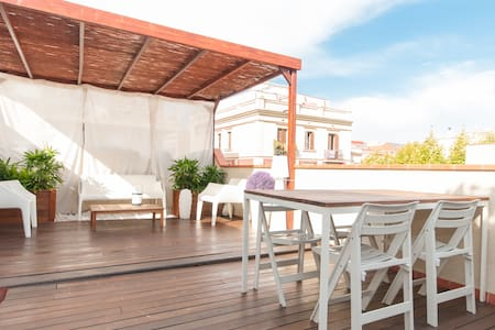LUXURY PENTHOUSE WITH PRIV. TERRACE - Barcellona