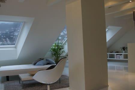 Modern attic apartment - Μπέργκεν - Διαμέρισμα