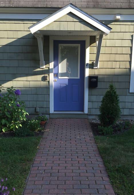 Condo property private entrance