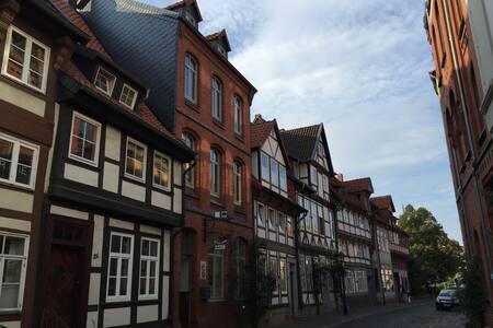 Wohnung im alten Fachwerkhaus - Hildesheim - Apartament