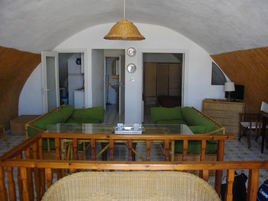 Salotto di Casa di Majo - Casa di Majo's living room FOTO 2015