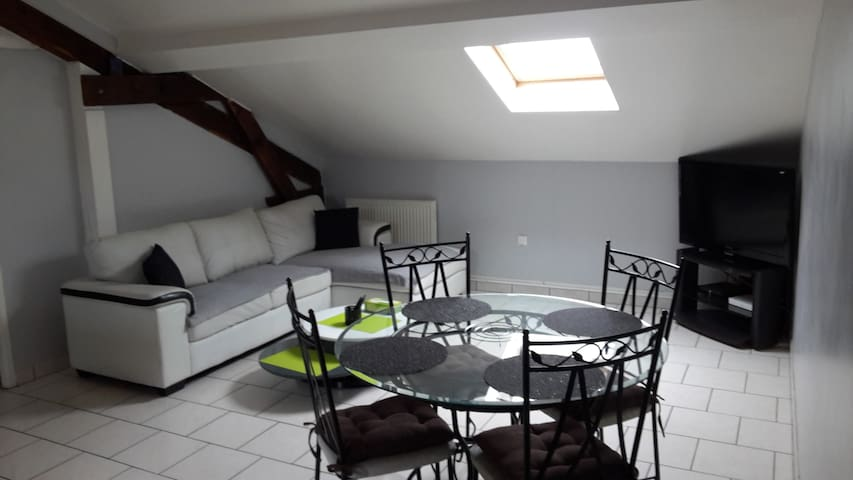 Bel Appartement T2 à 5mn de Nancy - Pont-Saint-Vincent - Apartament