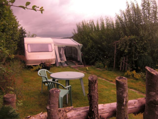 Caravan on smallholding. - Kington - Jiné