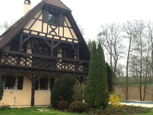 Luxury in Alsace / Swiss border - Hagenthal-le-Bas