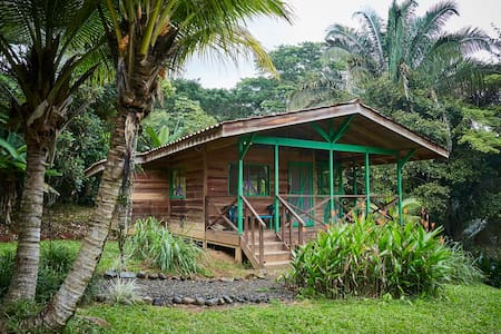 Cabina Lagunas in the rain-forest. - Dominical - House