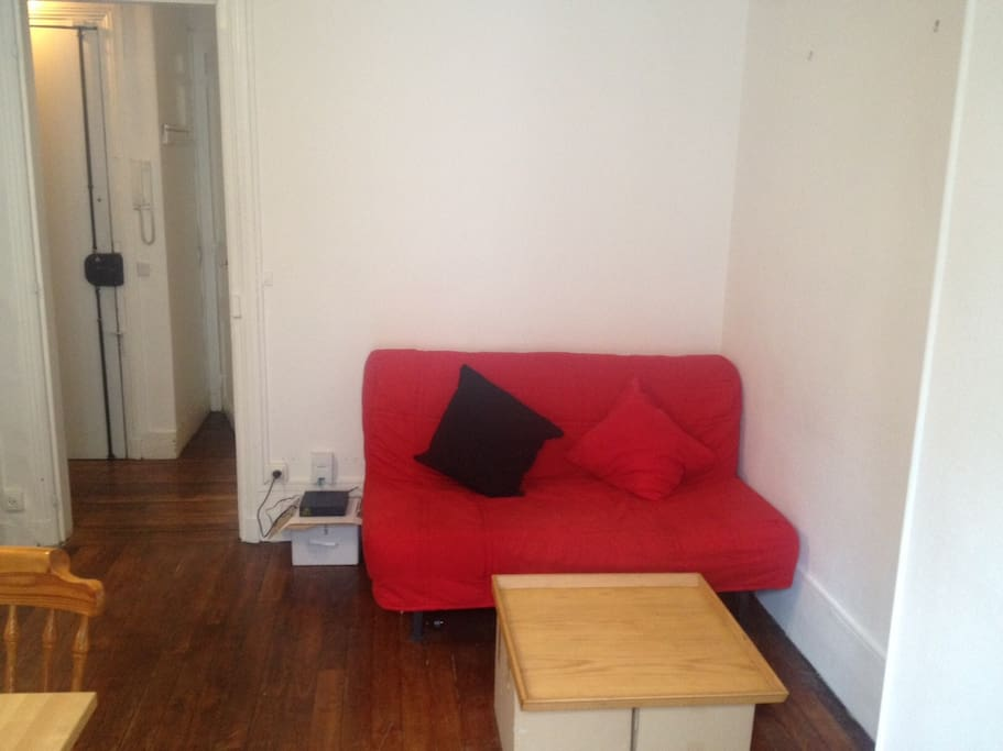 Sofa / double bed if need be